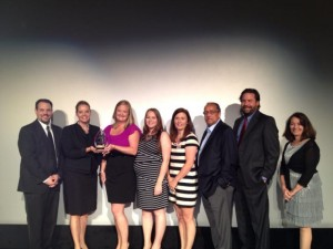 2013 Award of Excellence Award Recipient Photo