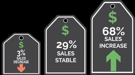 Primary Market Sales Trend Infographic