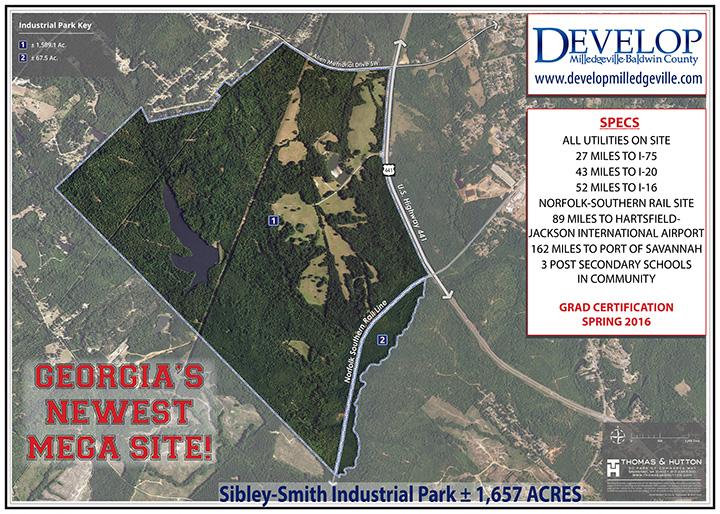 New Mega Site Aerial Image